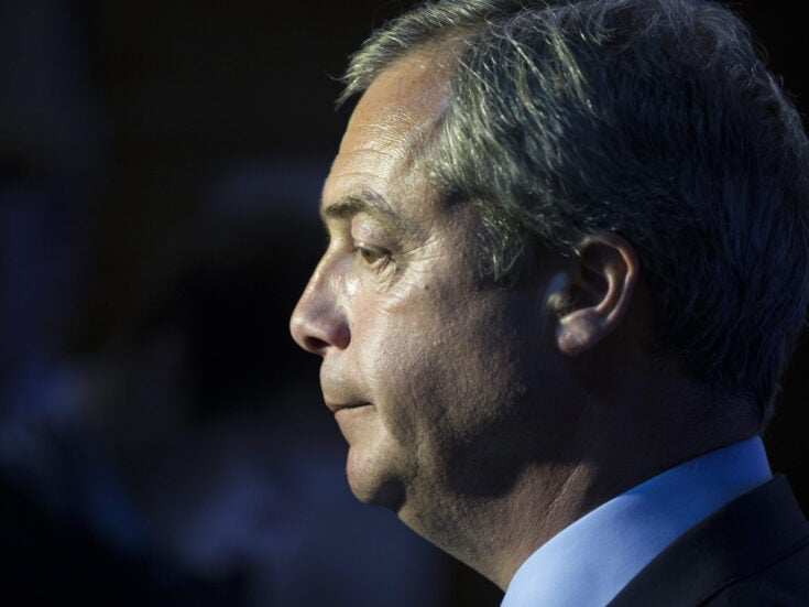 Nigel Farage seeks the limelight by teaming up with far-right MEPs in new European Parliament bloc