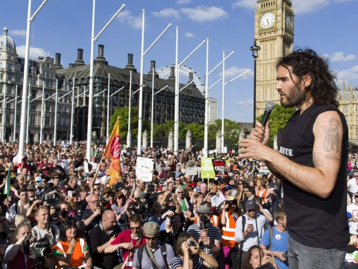 No, the media didn't ignore your anti-austerity march – it just wasn't that interesting