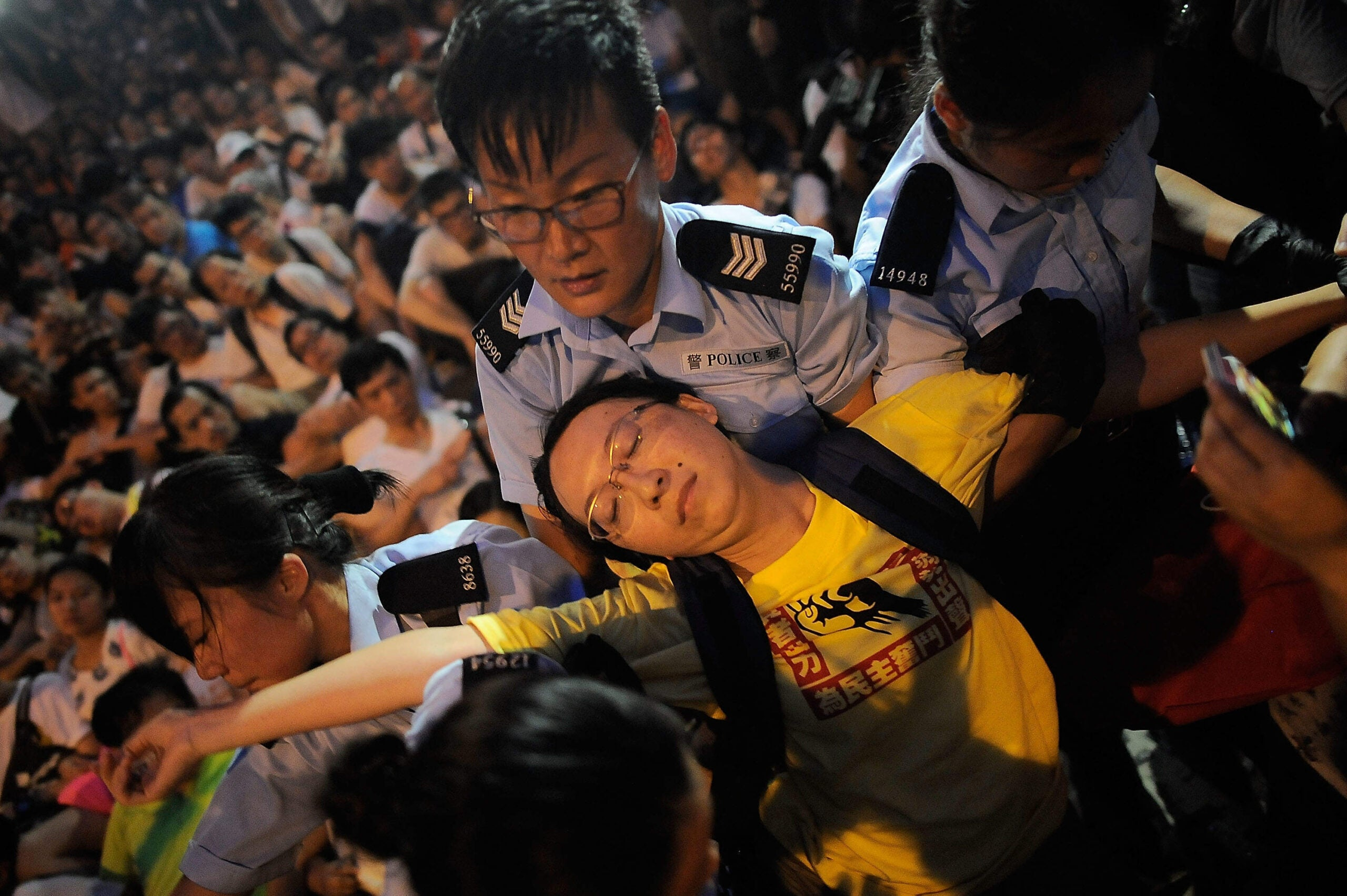 The fight for democracy and liberty in Hong Kong