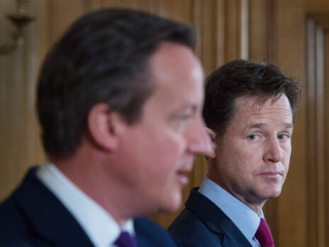 Minority retort: the Tories are looking to a future without the Lib Dems