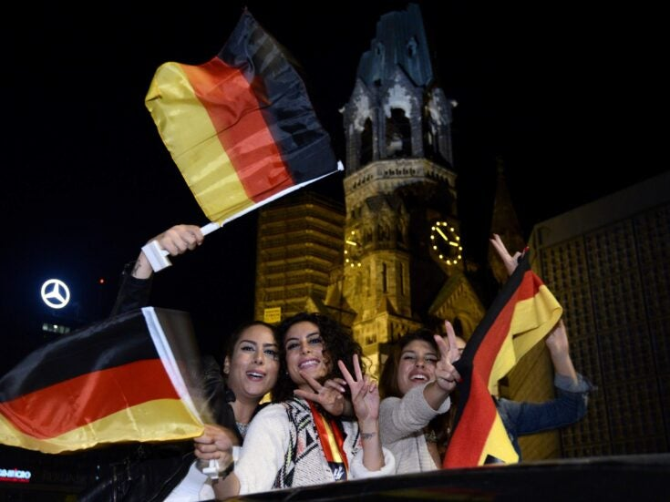 Football patriotism has saved modern Germany from its worries about national identity