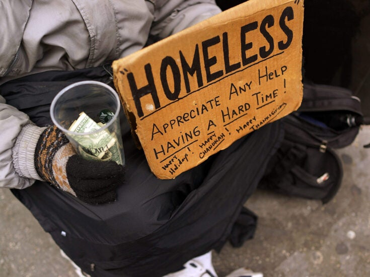 """There is nothing """"ordinary"""" about the devastation of homelessness"""