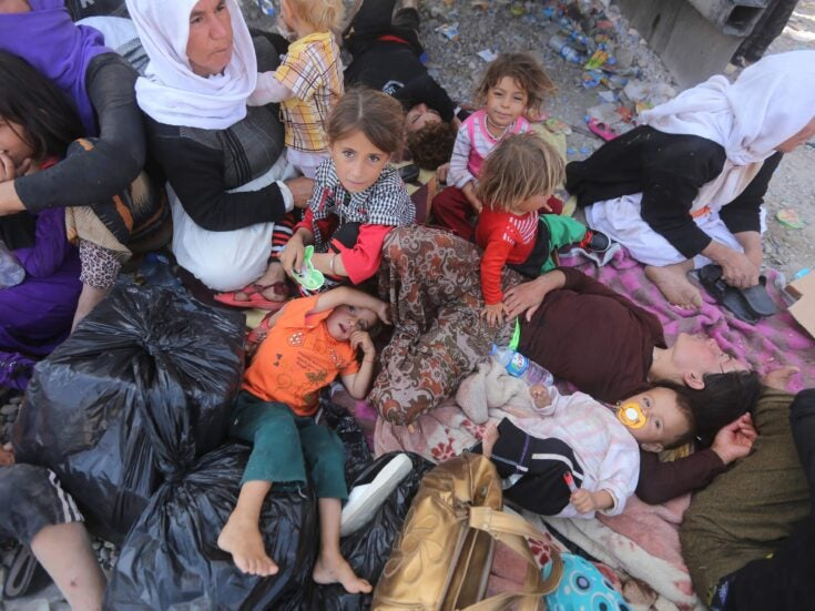 The Yazidis are starving, traumatised and still unsafe