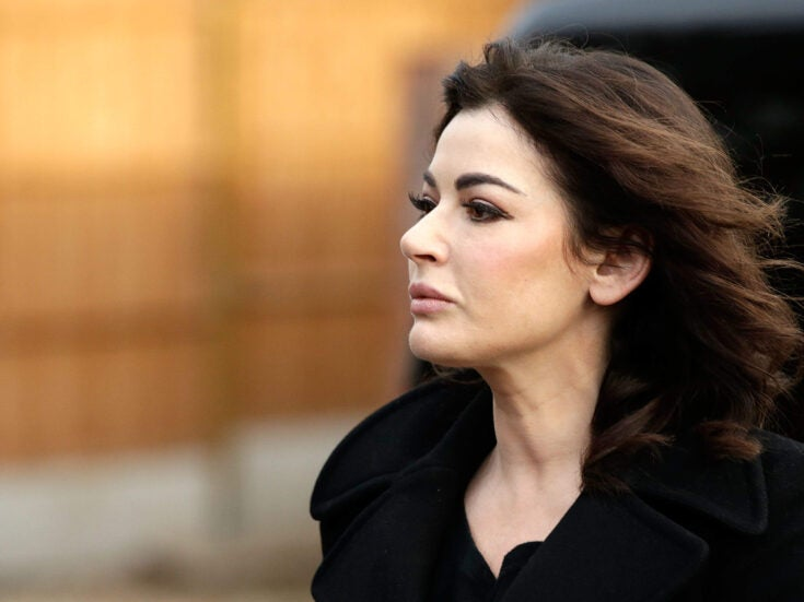 Name-dropping in Manhattan, Ukrainian deals and those Nigella pictures