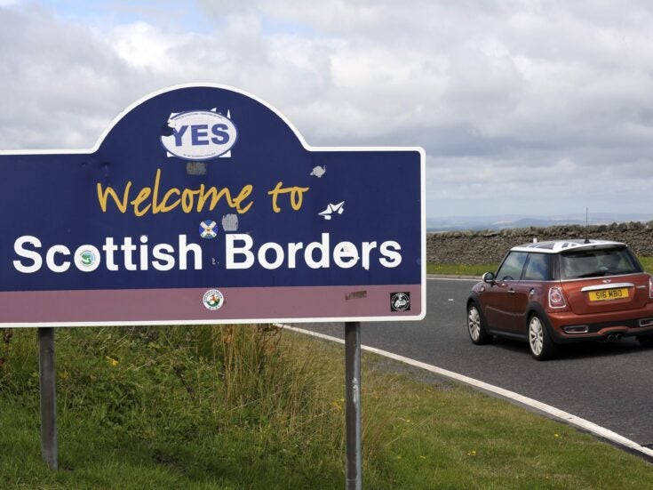 """""""I'm the only Yes in the village"""": speaking to swing voters and activists in the Scottish Borders"""