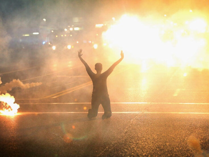 In America, fear is growing that the police are getting out of control