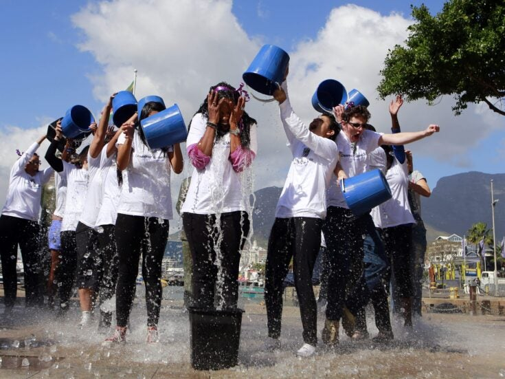 Stop throwing cold water on the Ice Bucket Challenge