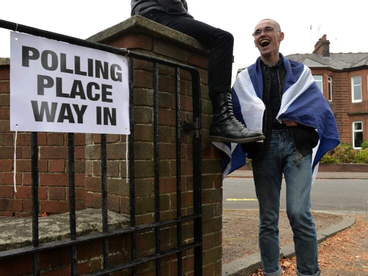 """Will the """"missing million"""" vote Yes or No in the Scottish referendum?"""