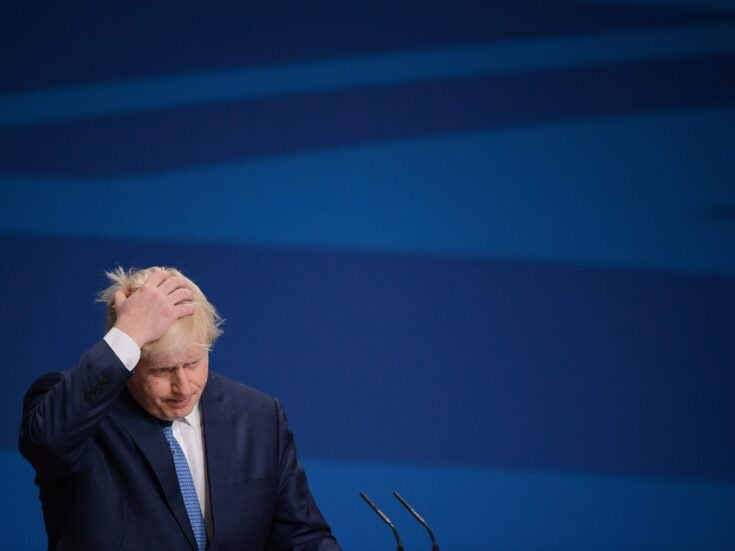 Homelessness is a national scandal and Boris is doing nothing about it