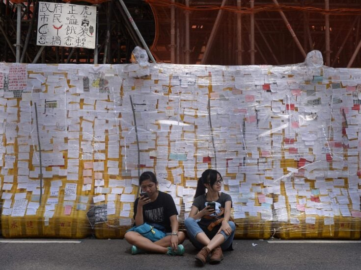 In Hong Kong, people have never had the vote – but that won't stop them demanding democracy