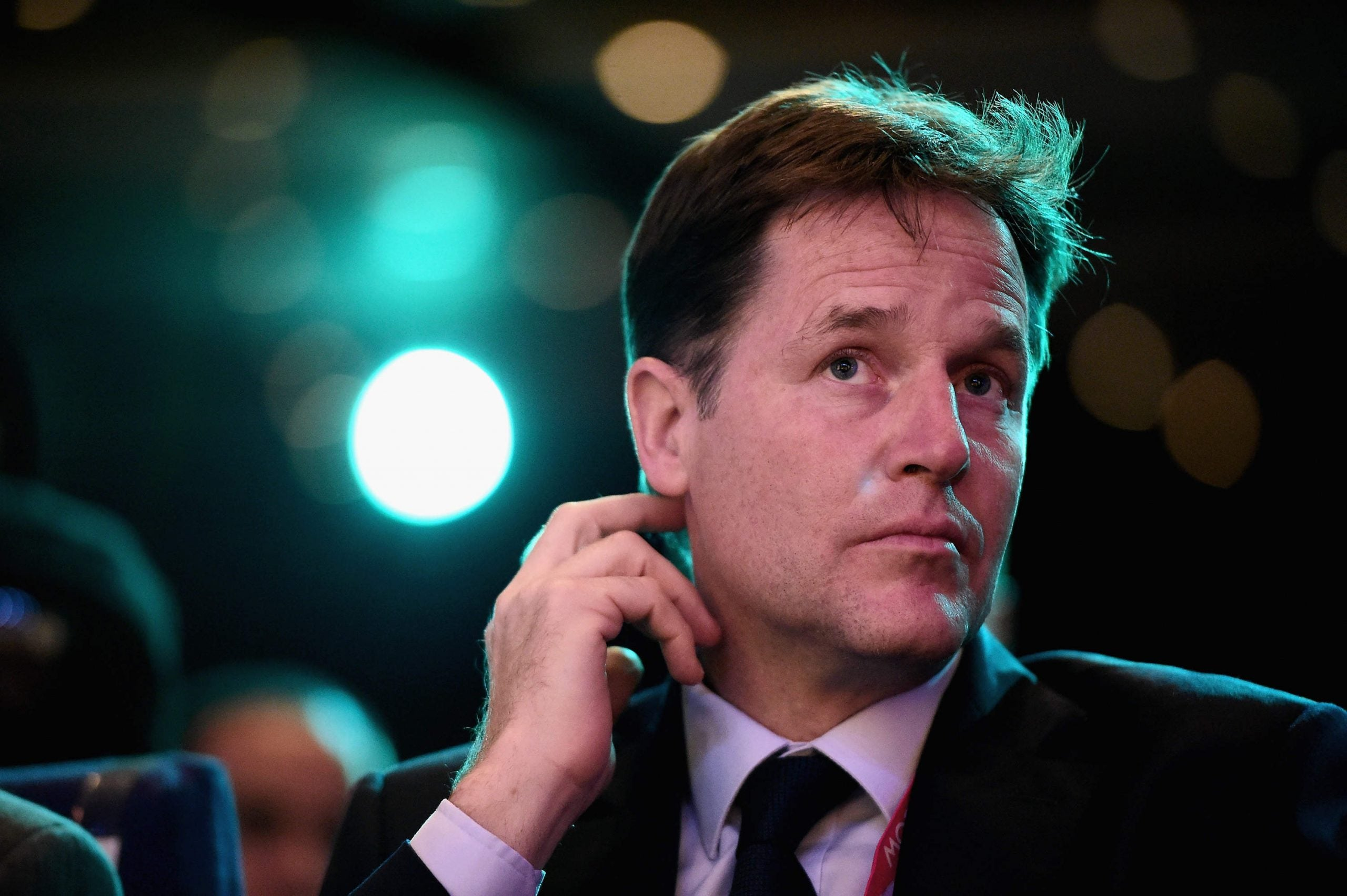 Believe the hype: Nick Clegg could lose his seat