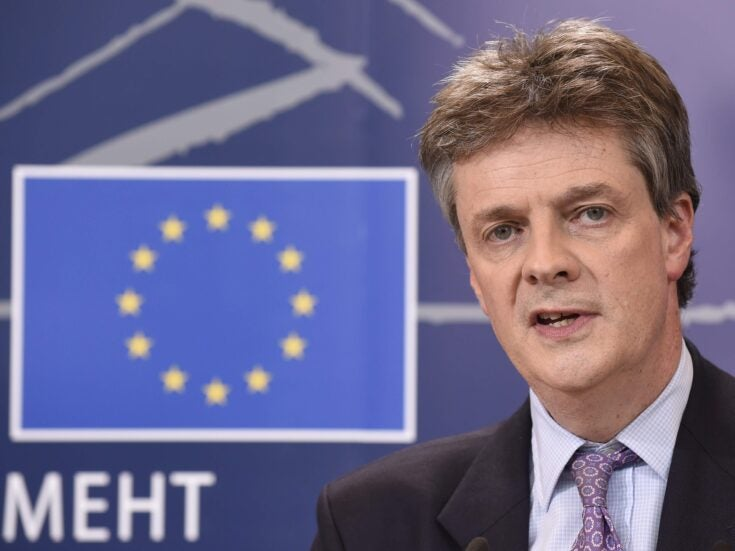 What are the difficulties Lord Hill will face as EU Commissioner, and why?