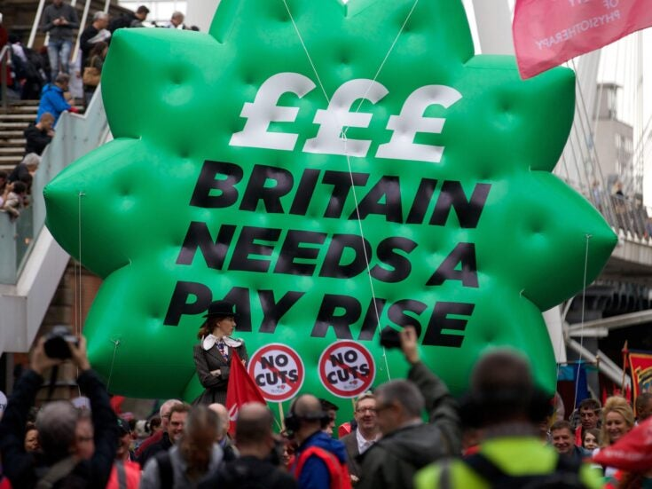 When it comes to pay, Londoners need real change