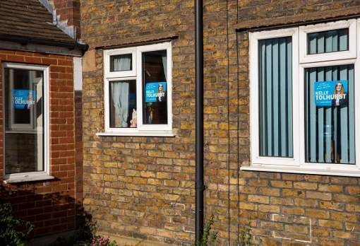 Whatever happened to the election posters in our windows?