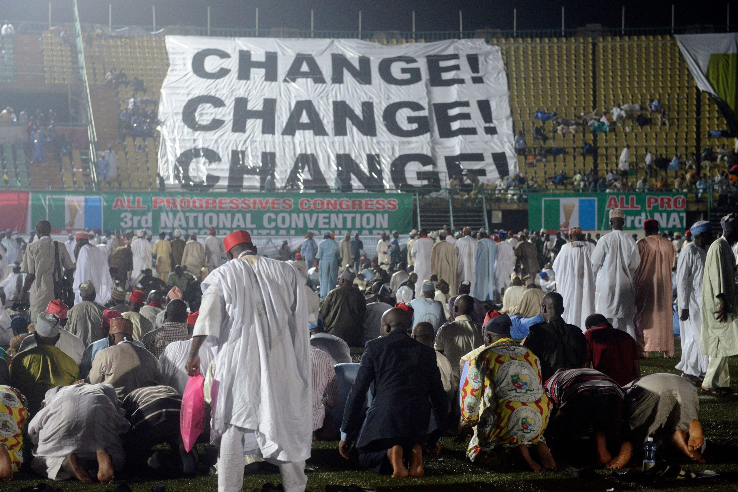Fleeting loyalties and revolving doors in Nigeria as the election approaches