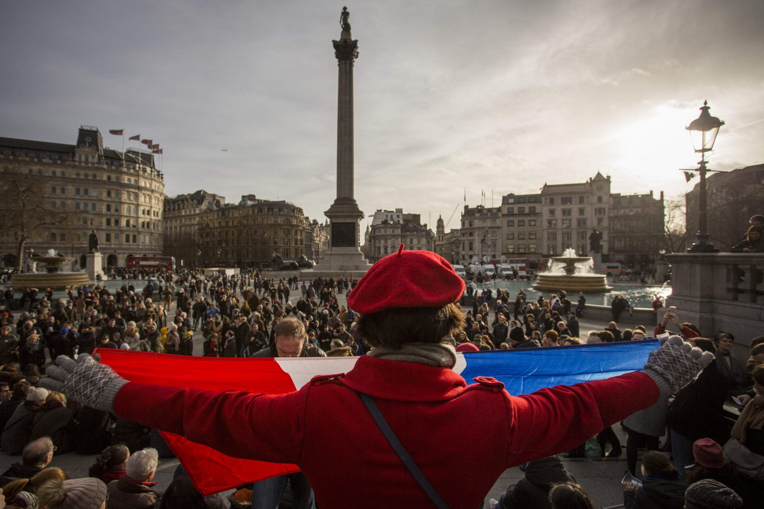 The horrors in Paris, flowers from Boris, and the spirit of Charlie Hebdo in London