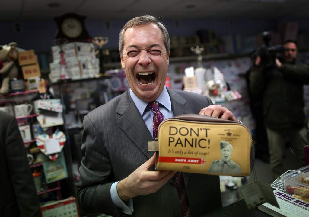 Castle Point: Farage, Carswell and co. descend on Essex's Canvey Island