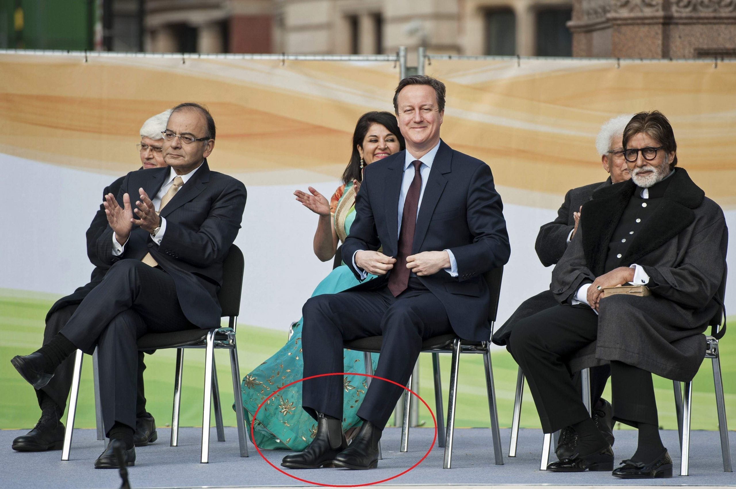A politician's right to shoes: it's not just the women whose footwear is telling