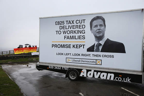 How a Liberal Democrat might talk about the coalition without winding up Labour?