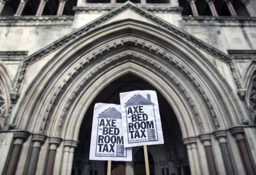 What has happened to the disabled people affected by the Coalition's welfare reforms?