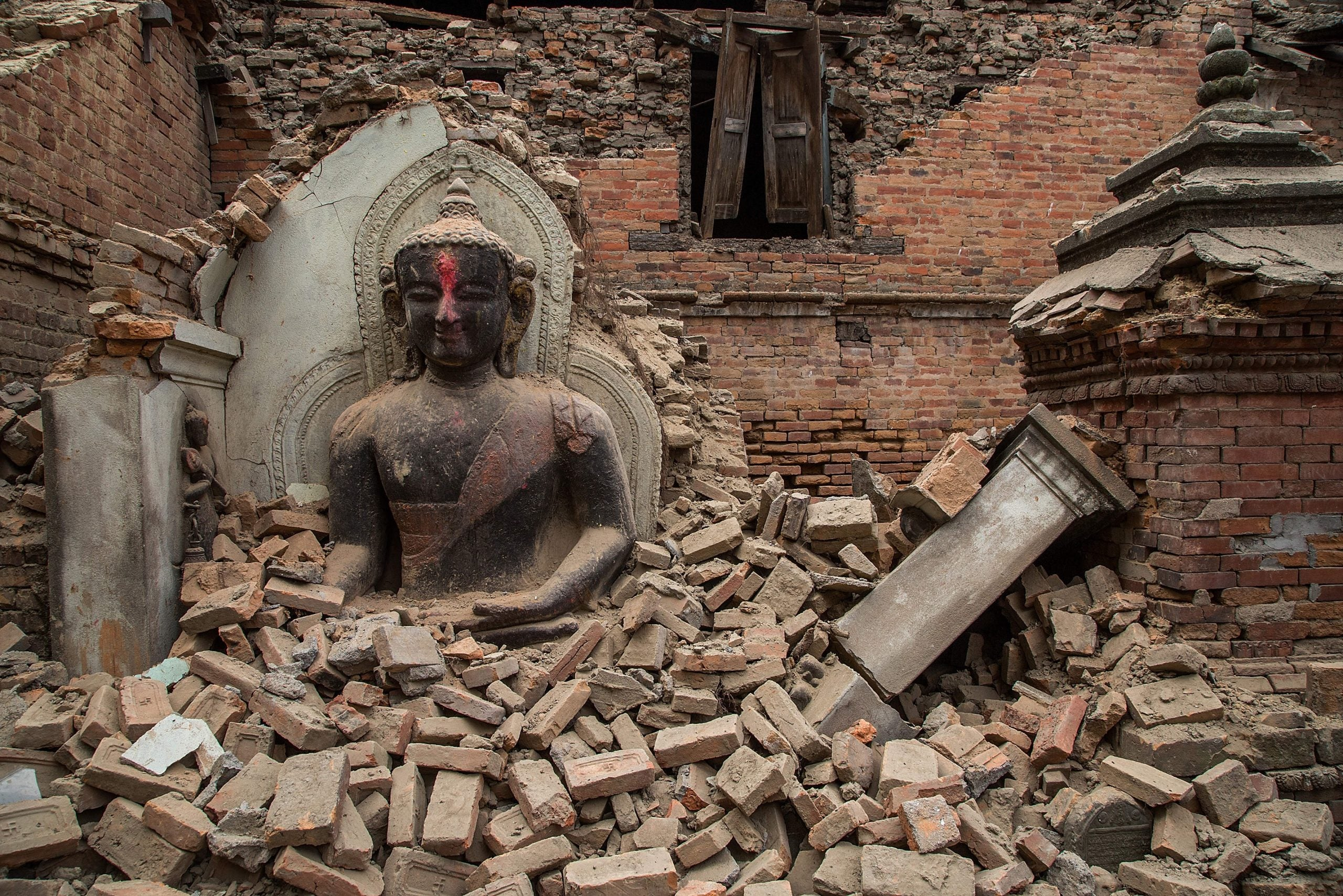 Nepal has become a country that can't see the future – this quake gives us a chance to change that