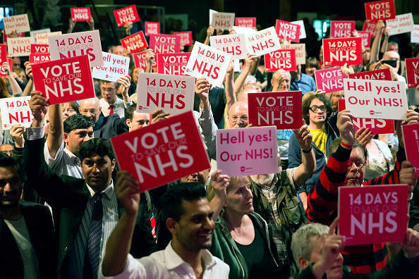 How Labour are pushing the NHS debate on social media