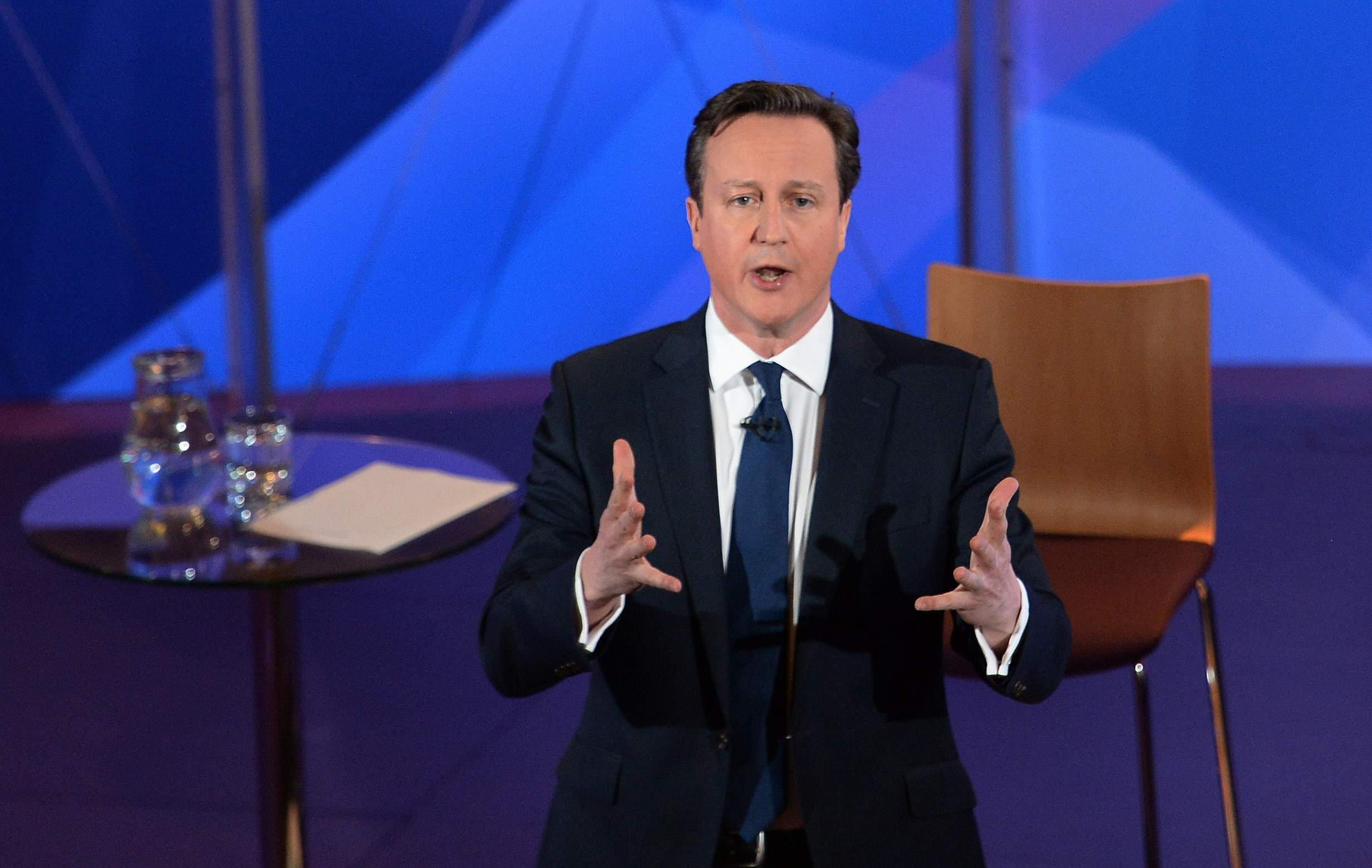 Cameron fares best as party leaders are put on the torture rack