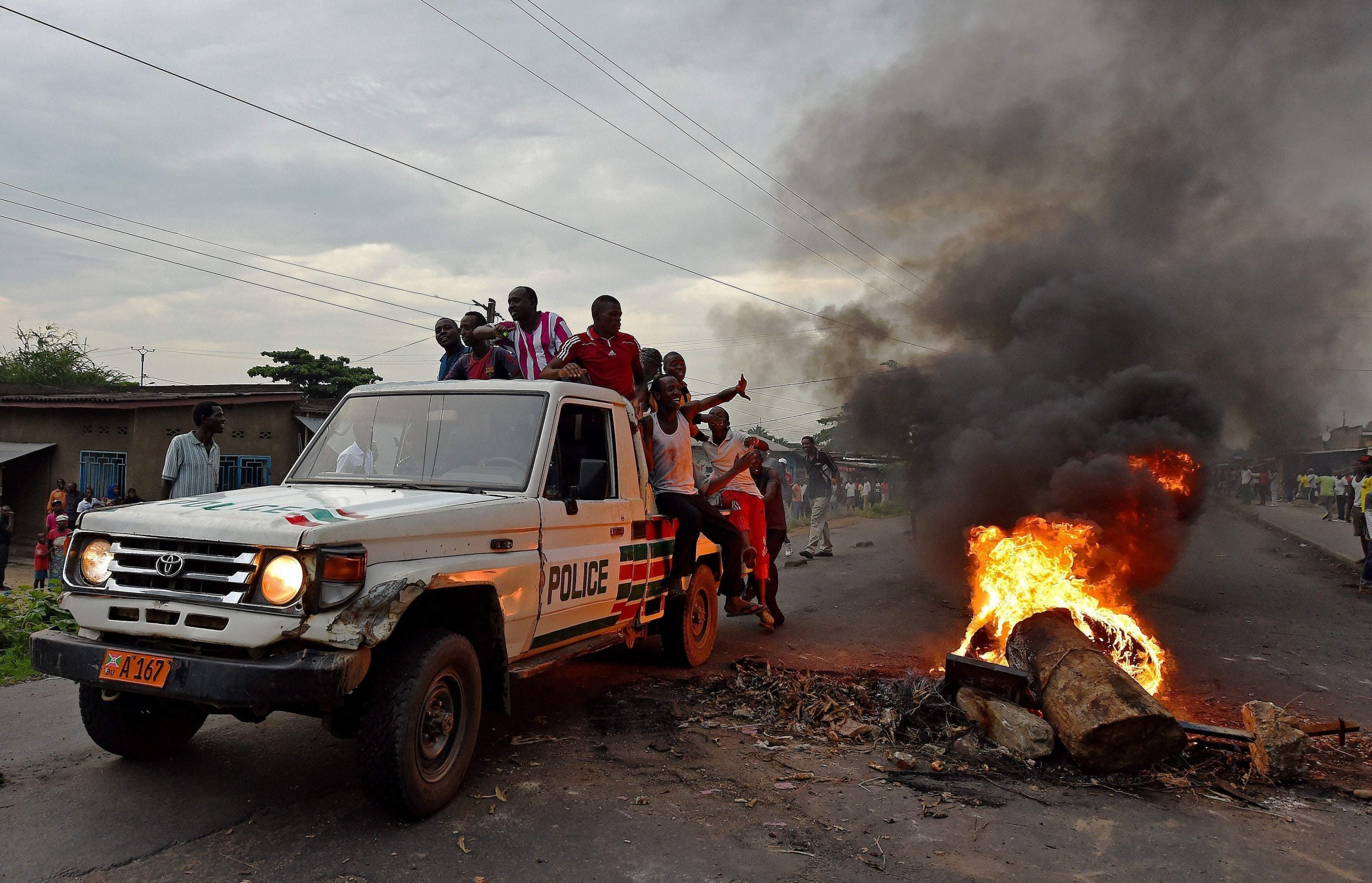 In today's Burundi, neutrality is the best way to survive