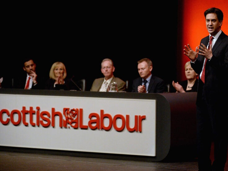 In Scotland, Labour flounders as the centre right rises