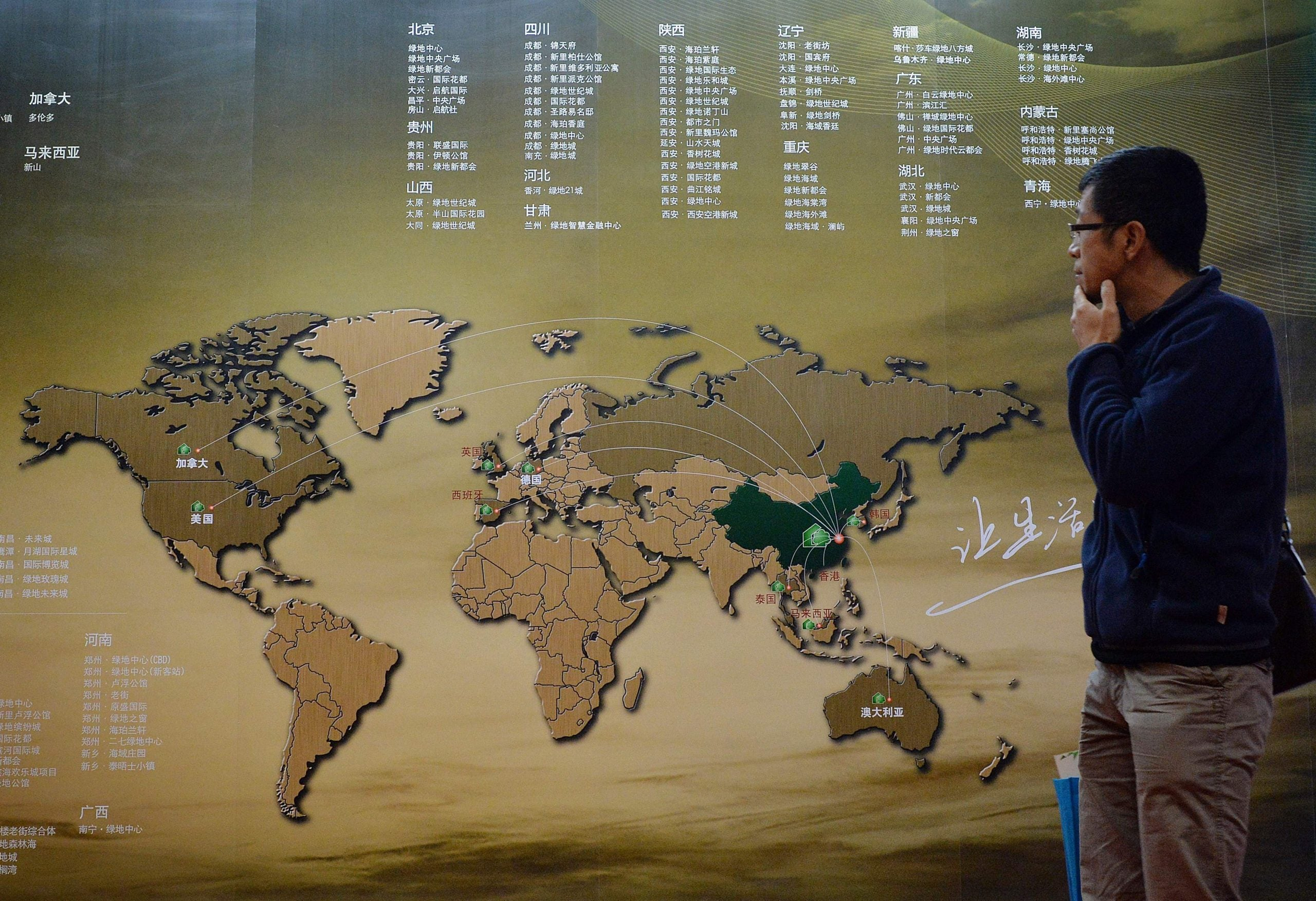 The Chinese dream drifts on undisturbed