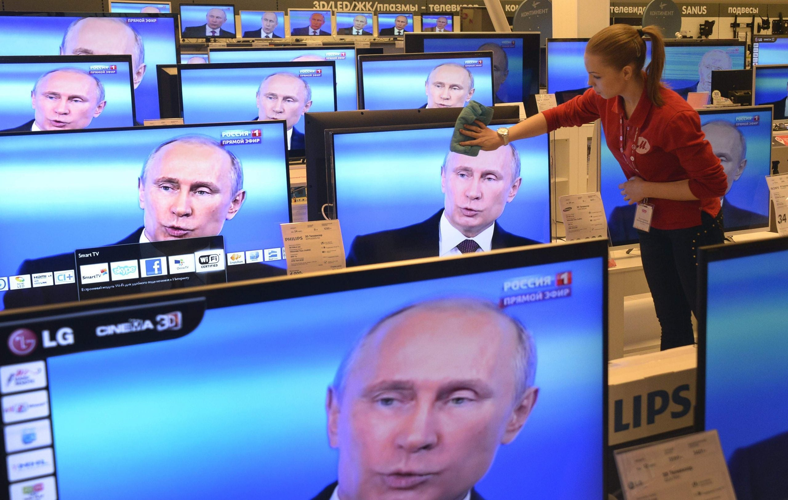 A very special version of Russian democracy