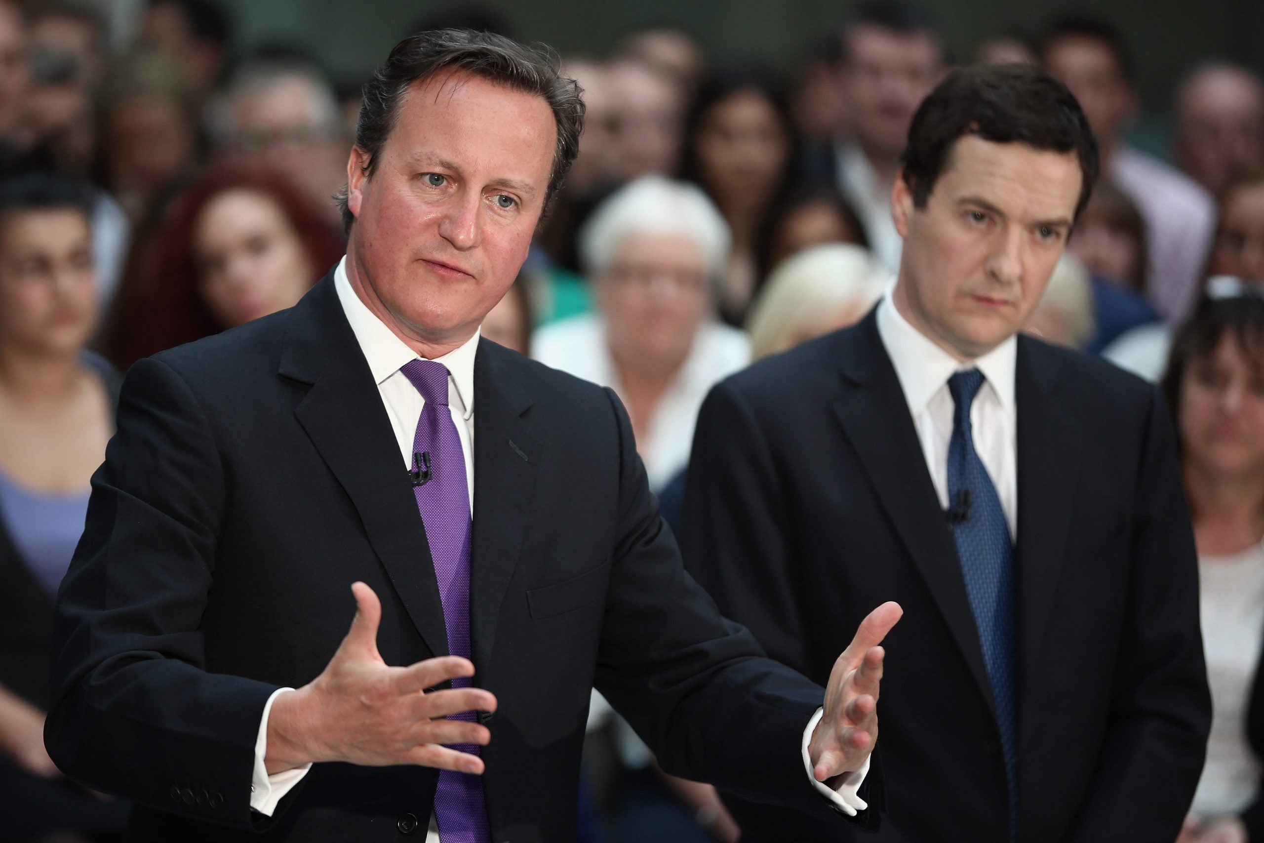 The Tories want to buy Britain, but they're losing the campaigning battle