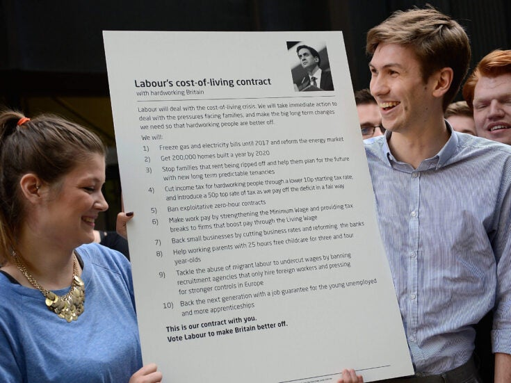 Labour should pledge to make the government a living wage employer