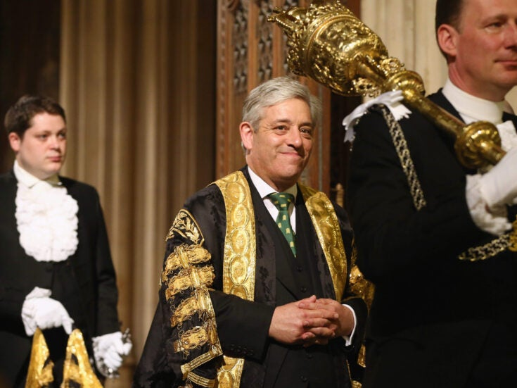 John Bercow is becoming dangerously outflanked over Commons clerk row