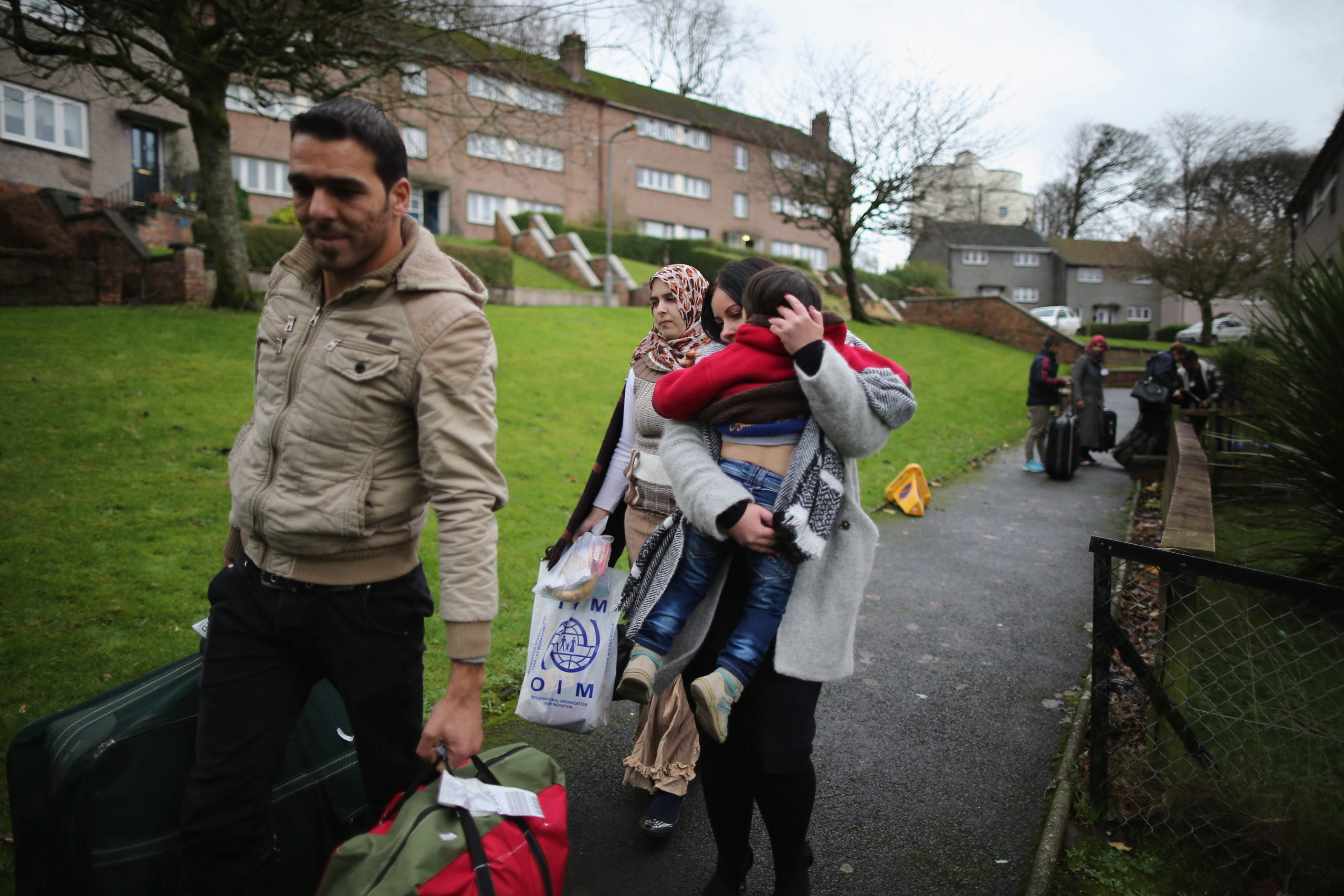Meet the Syrian refugees being housed on a remote island off the Scottish coast