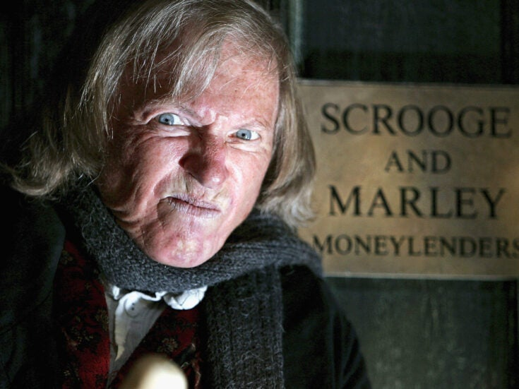Why Scrooge is an anti-capitalist hero, bravely resisting the commercialisation of Christmas