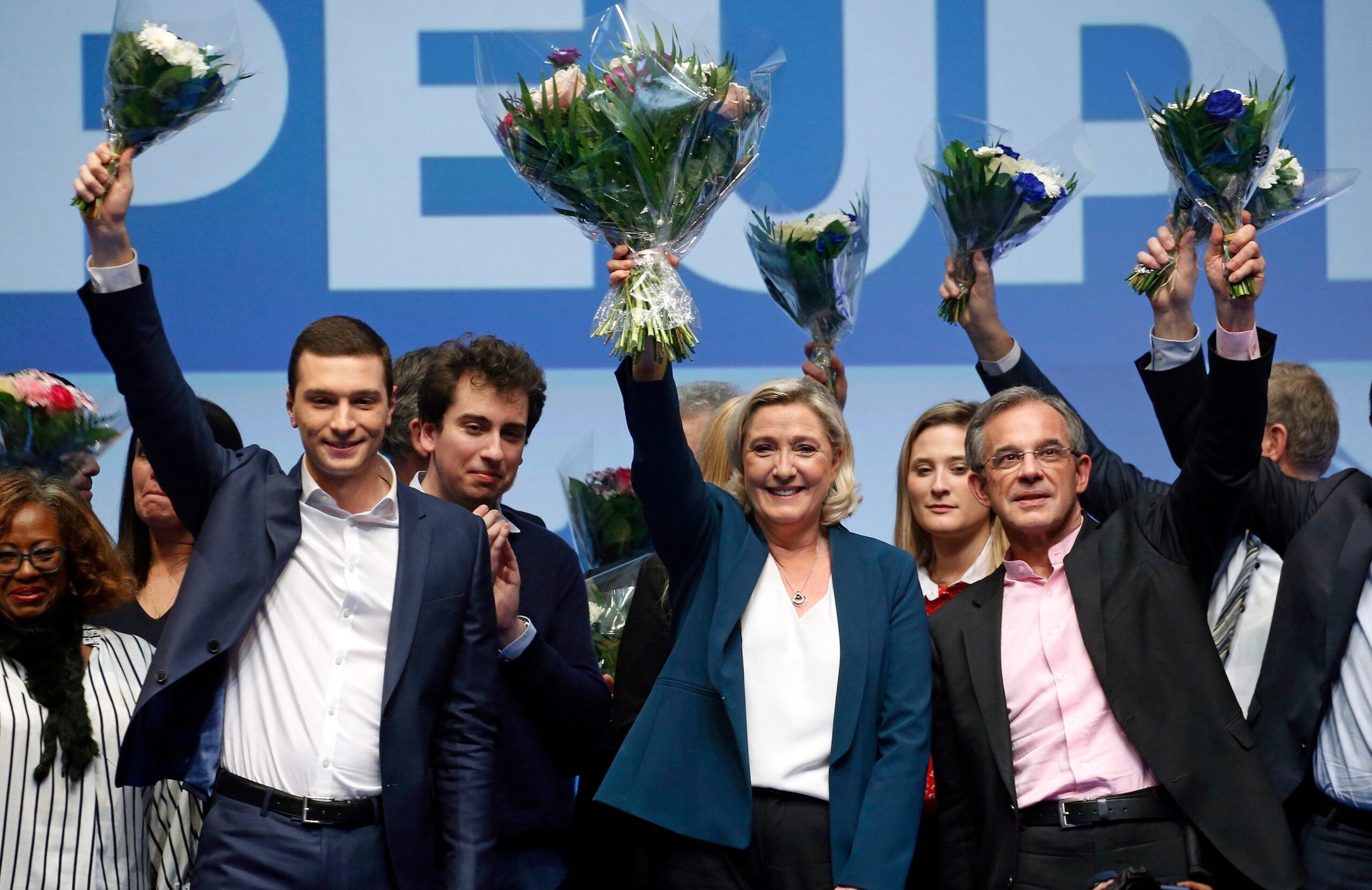 How French conservatives are turning toward Marine Le Pen