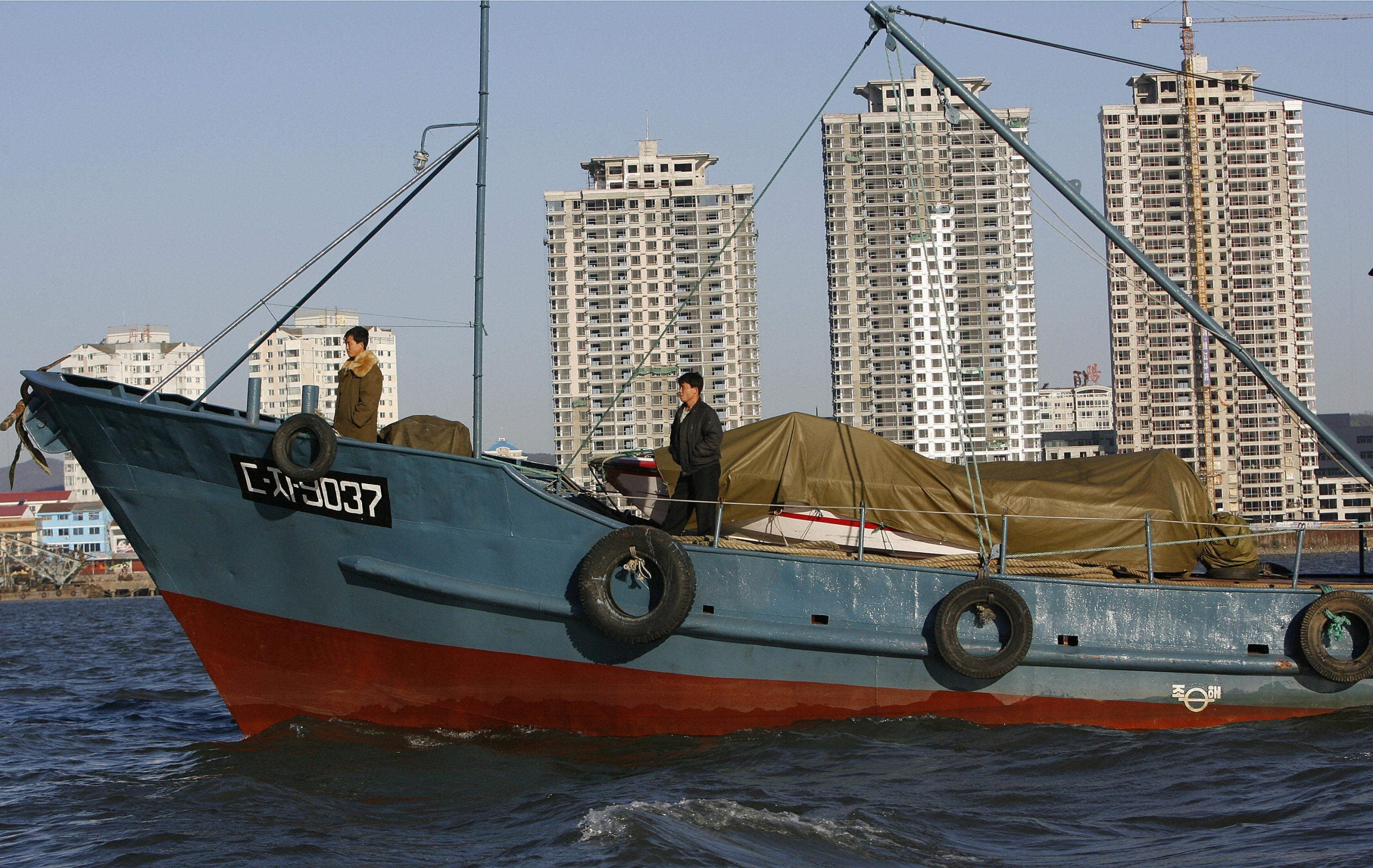 Sailing for North Korea: A voyage to the town where no one knows the Beatles