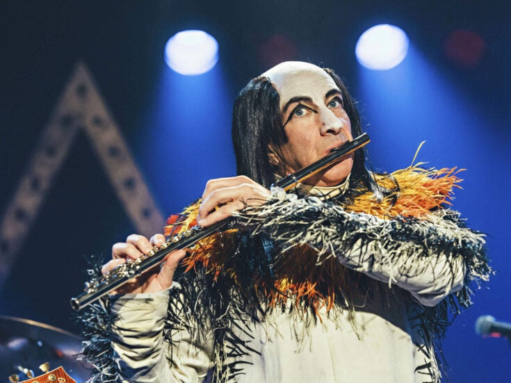 Cleverly, playfully pitch-perfect: the joys of Brian Pern: A Life in Rock
