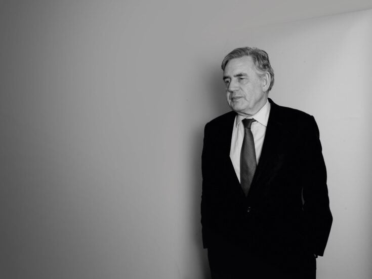 Gordon Brown's convincing and clear-sighted vision for the future