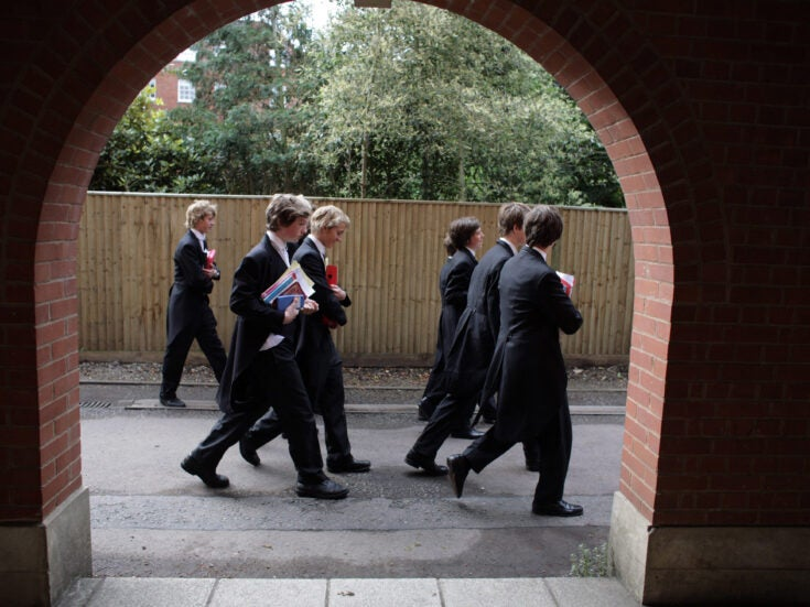 Only Labour has the will to tackle the private-state education divide