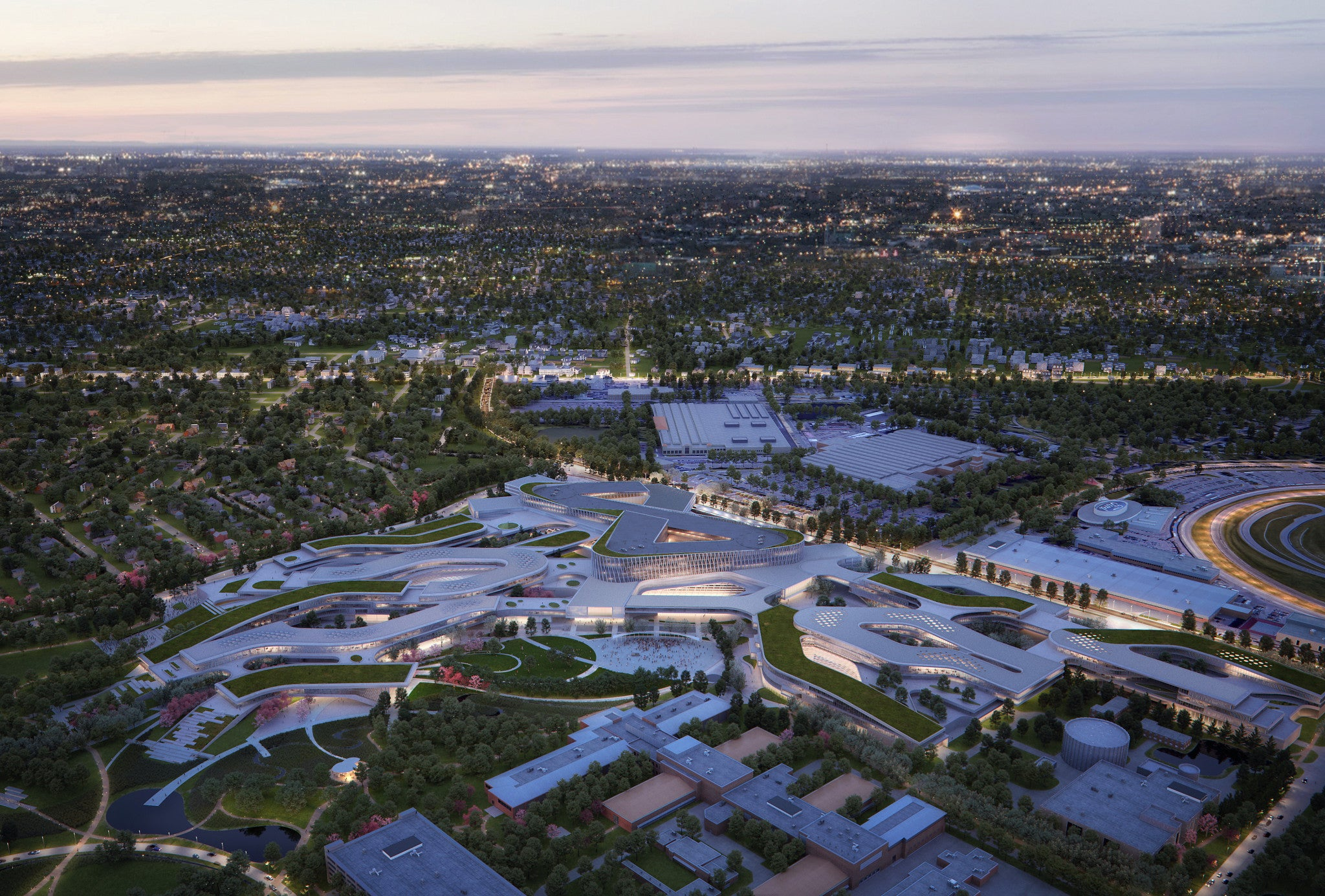 What Ford's new headquarters tells us about the future of transport