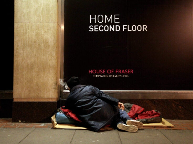 Homelessness will not be solved by building private homes – we need a radical solution