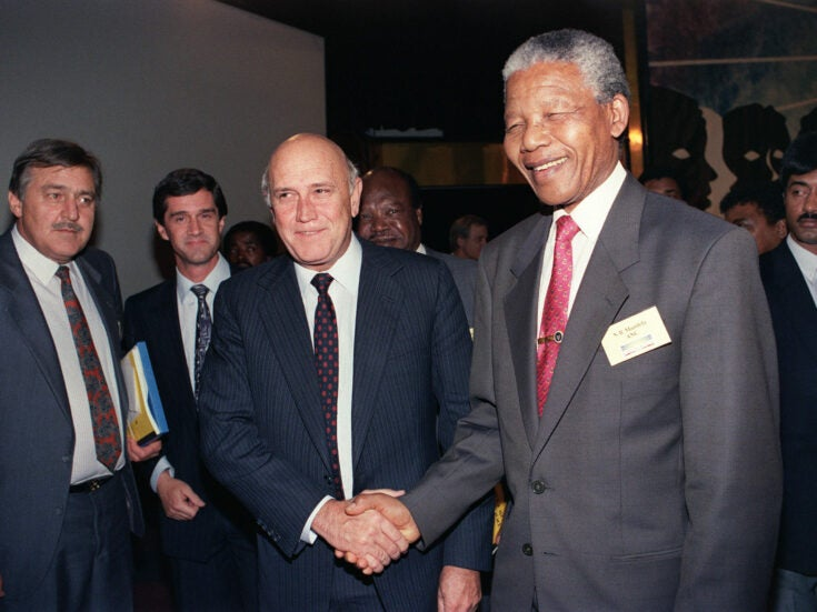 From the archive: An interview with Nelson Mandela on Bisho, de Klerk and the new South Africa