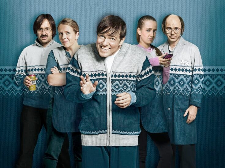 """Fresh from baiting the disabled, Ricky Gervais's """"Derek"""" takes aim at the elderly"""