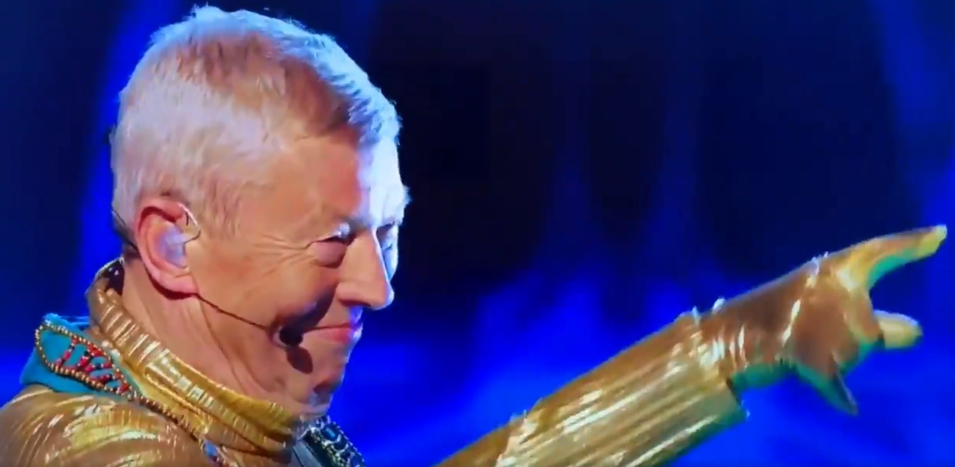 WATCH: Audience baffled as Alan Johnson is unmasked on reality show