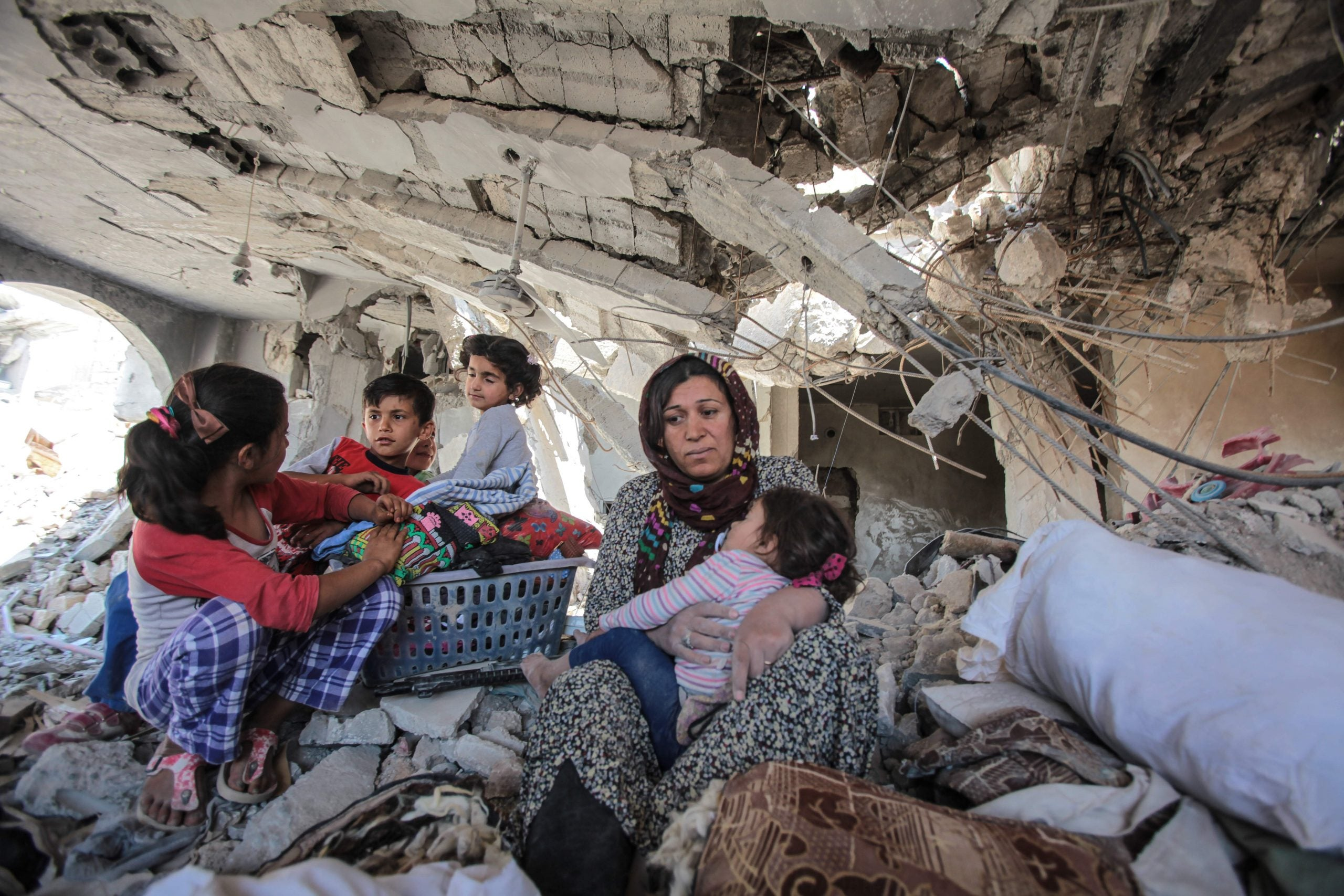Inside Syria's unending siege, civilians, not soldiers, are the victims
