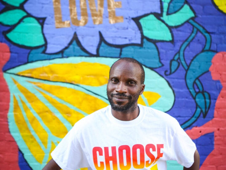 Meet the man turning t-shirts into support for LGBT+ refugees