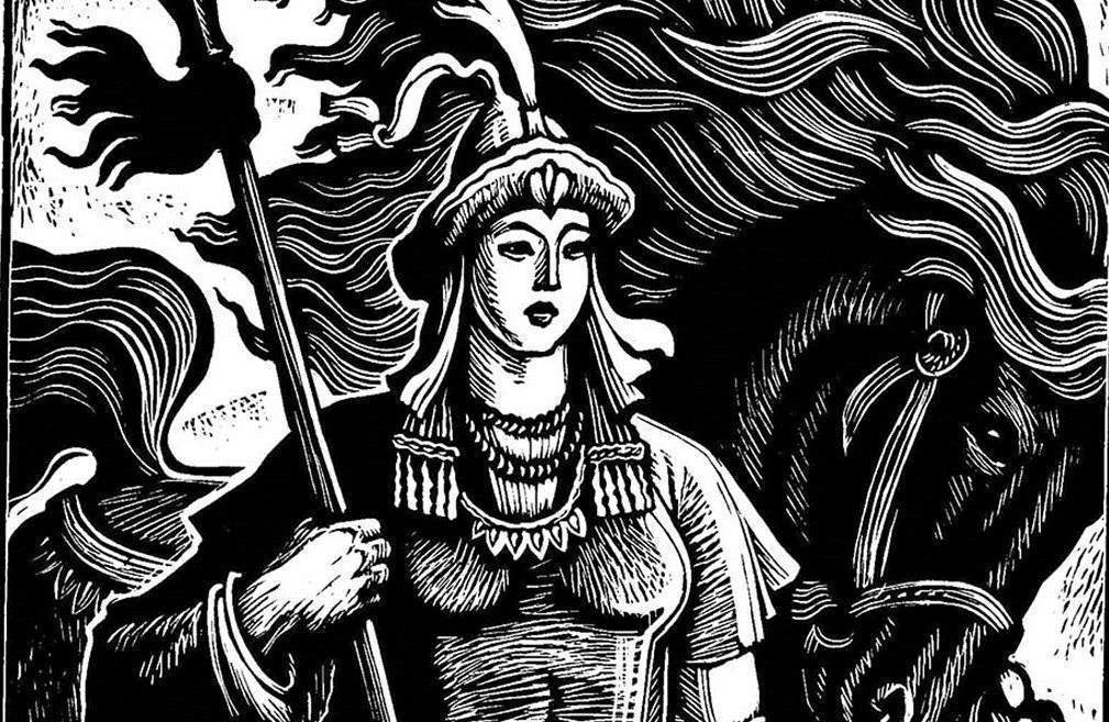 """Pale riders: Adrienne Mayor's """"The Amazons"""" shows how a myth developed"""
