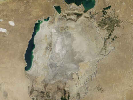 The fourth-largest lake in the world has now completely dried up